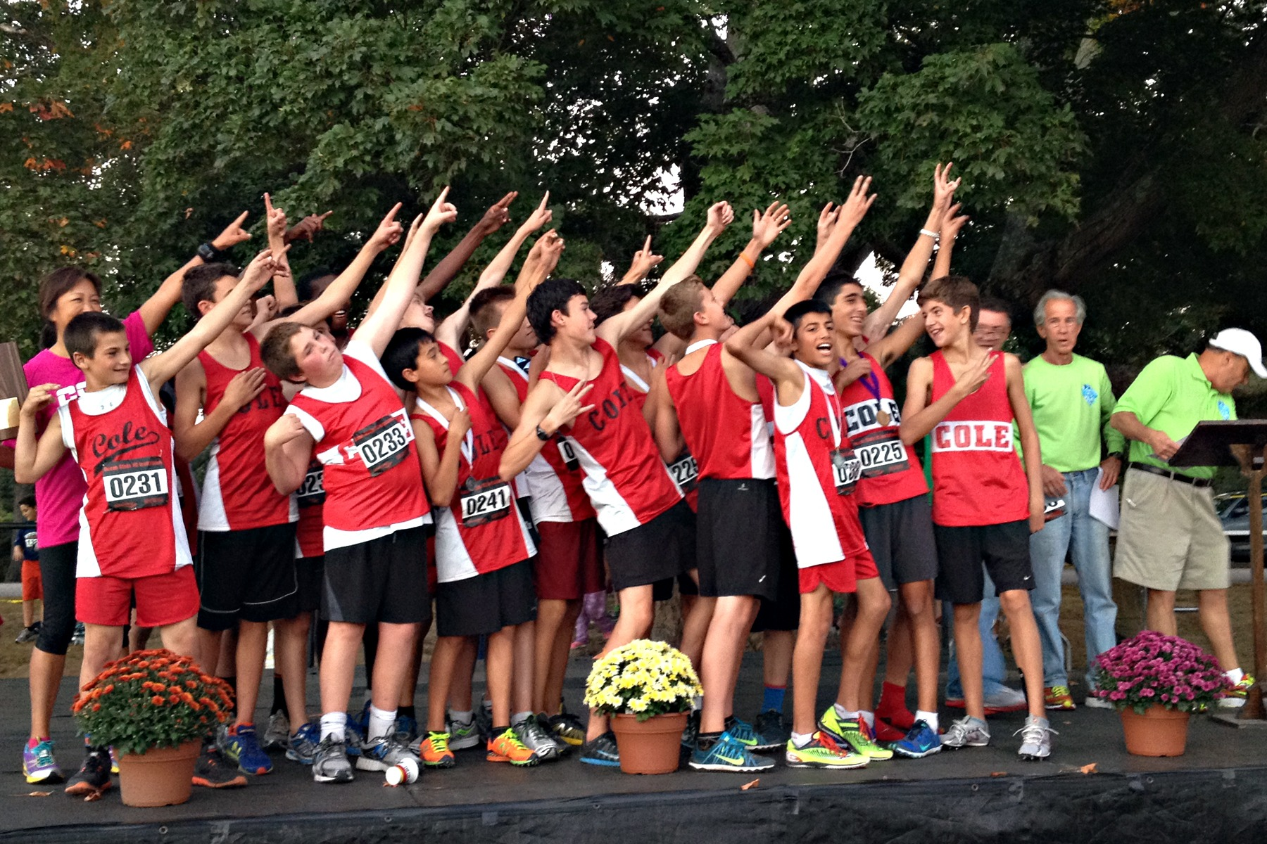 Cole Cross Country Cleans Up at Recent Meet