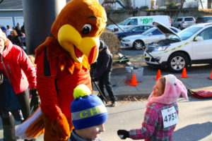 The 2014 Turkey Trot was chilly but didn't deter runners both young and old.