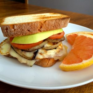 ​Fried Egg, Cheddar and Avocado Sandwich