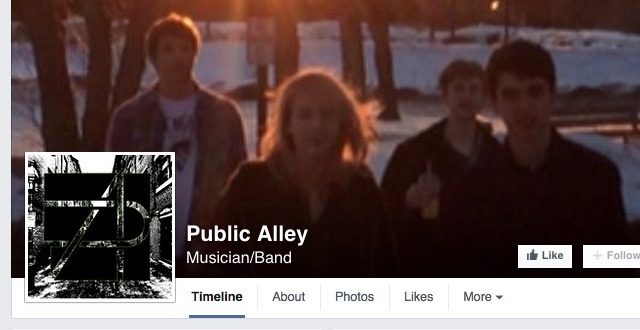 EG Musicians 'Public Alley' Need Your Vote!