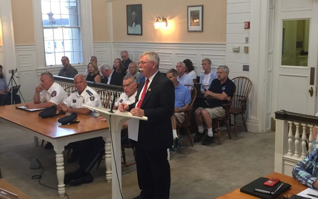 Fire Chief Search On Hold Pending Court Ruling
