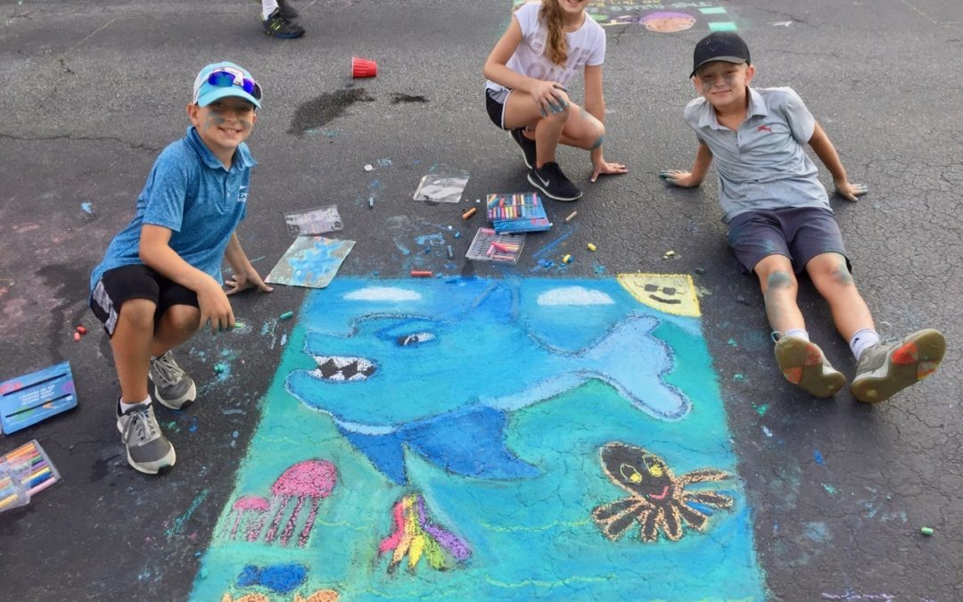 Pictures From July Stroll, Chalk Fest