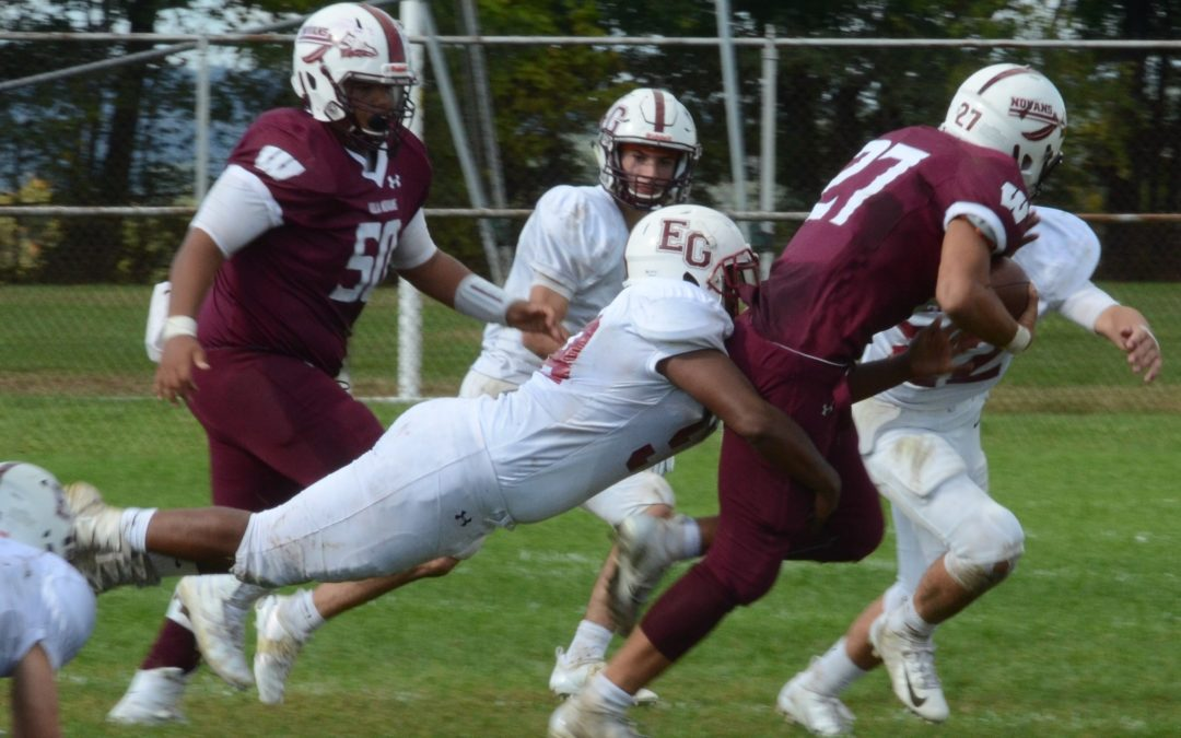 Avenger Football Falls to Woonsocket Villa Novans, 44-13