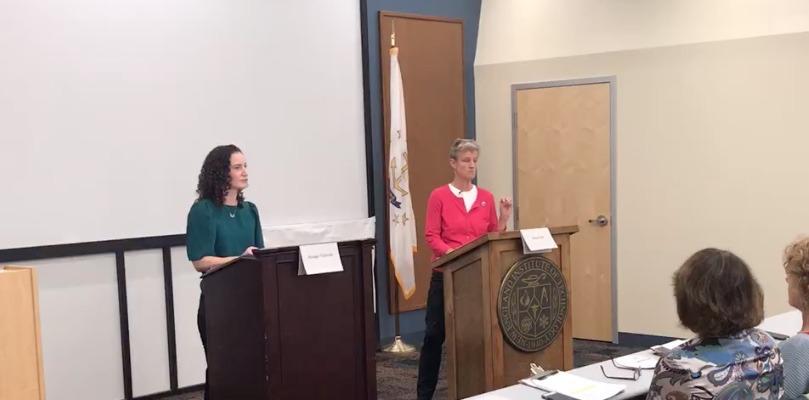 Sen. Dist. 35 Forum Candidates Spar Over Unions, Truck Tolls; Agree on Energy, Abortion