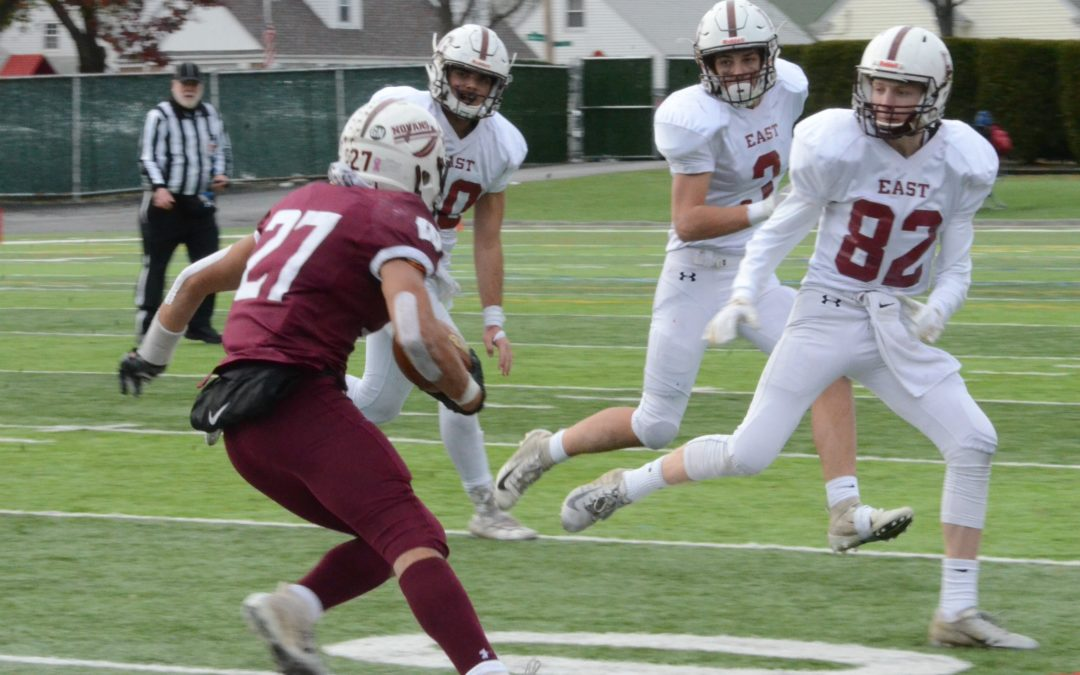 Avenger Football: EGHS Falls to Woonsocket in Super Bowl, 37-13