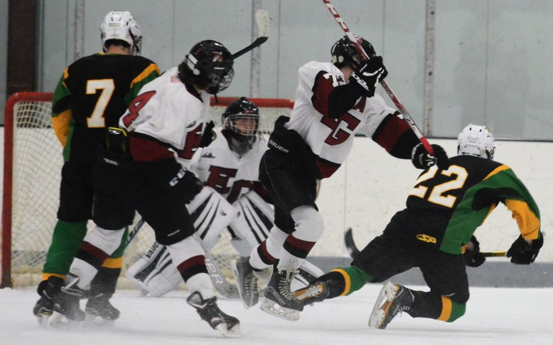 Boys Hockey: Avengers Fall to Northmen, 3-2